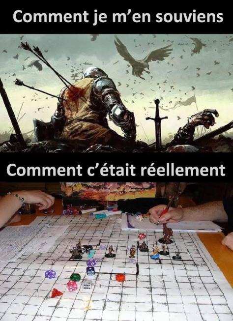 Les combats dans les jeux de rôle