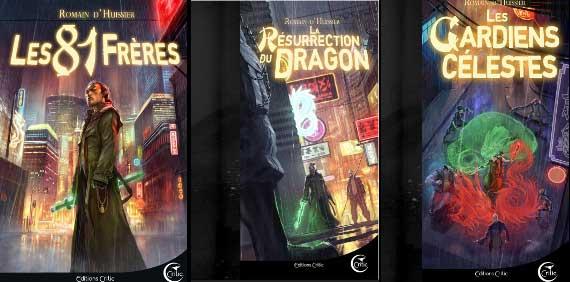 trilogie des Chroniques de l'Étrange de Romain d'Huissier