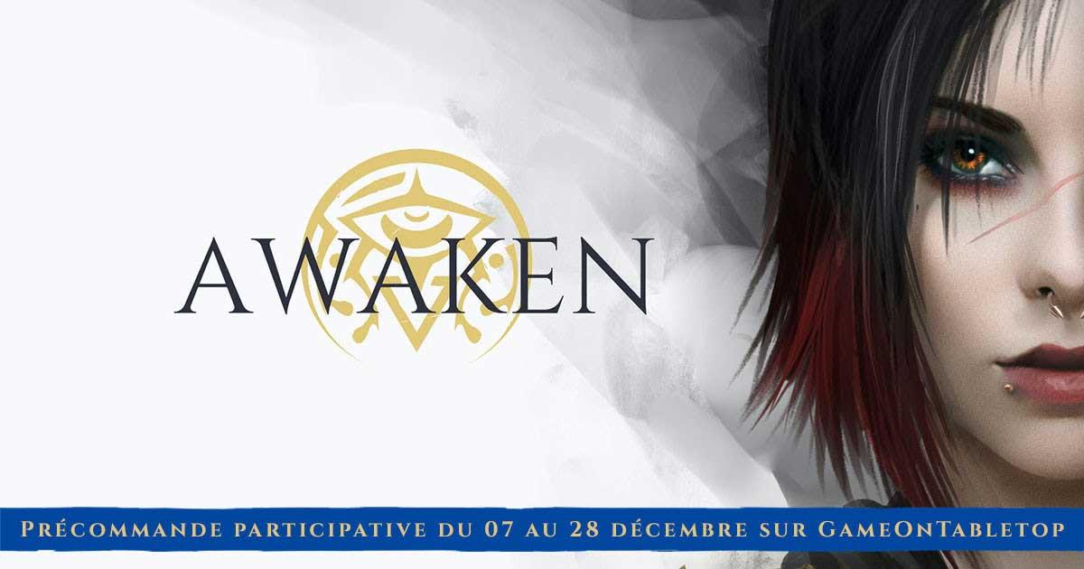 Précommande Awaken, un jeu de rôle de darkfantasy