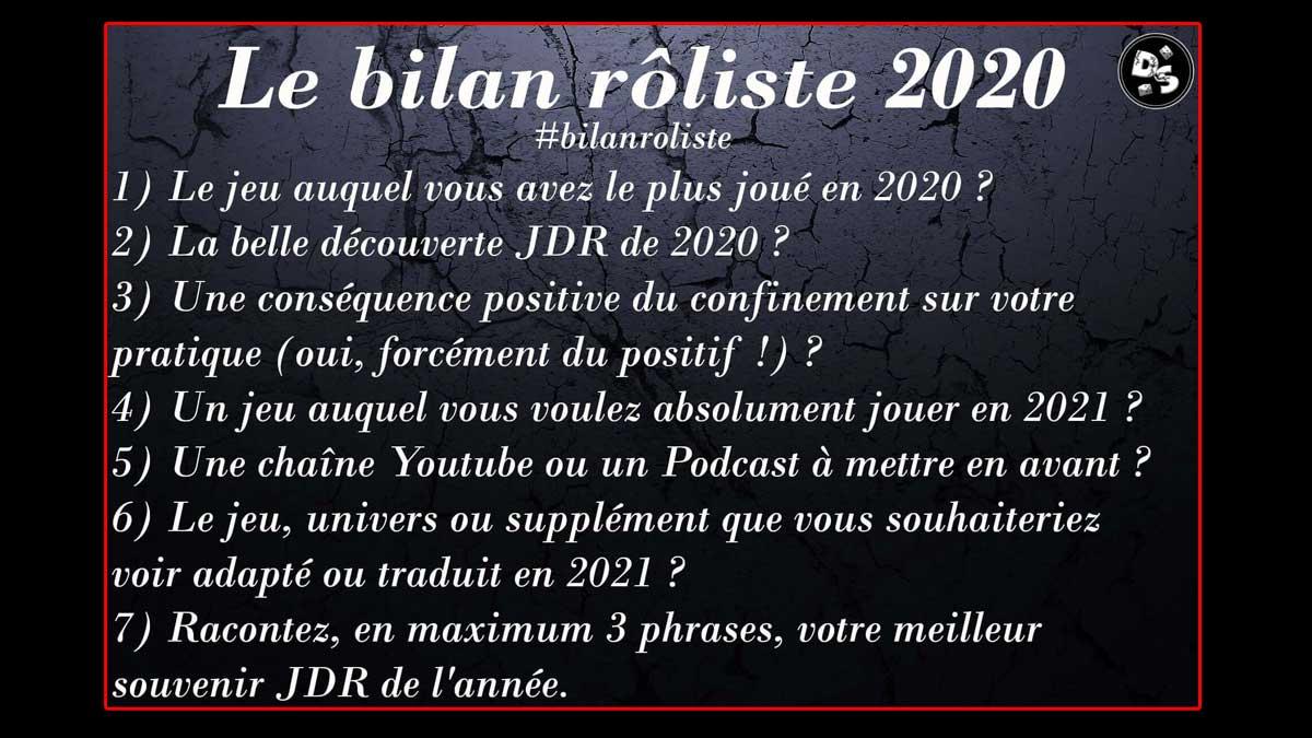 Le Bilan Rôliste2020