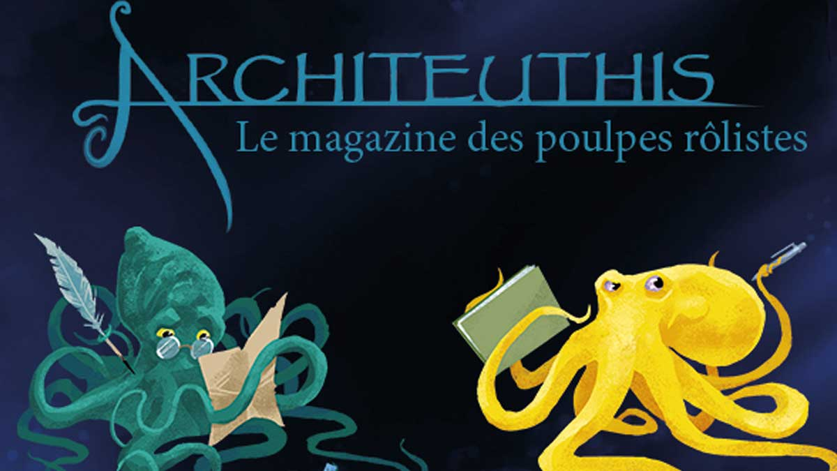 Architeuthis, un nouveau magazine de jeu derôle