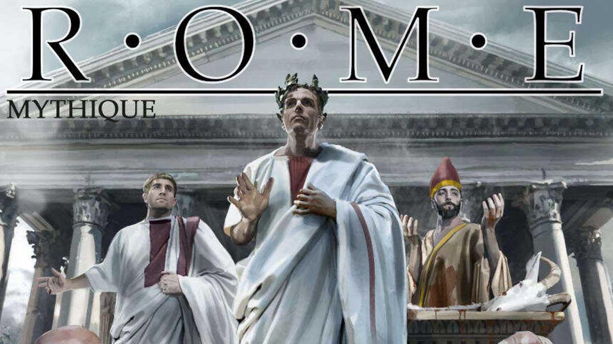 Rome mythique (Mythras) en impression à lademande