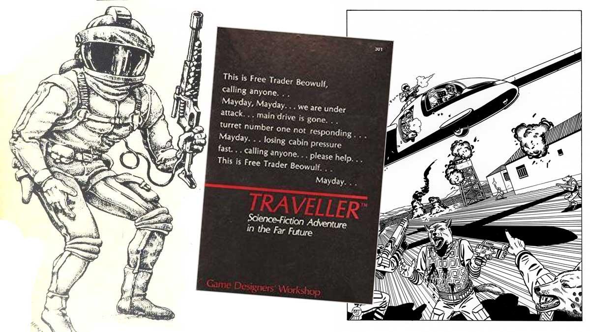 La Petite Histoire du JDR 12 –Traveller